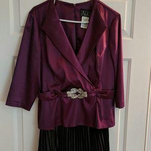 Women's 2 Piece Evening Dress
